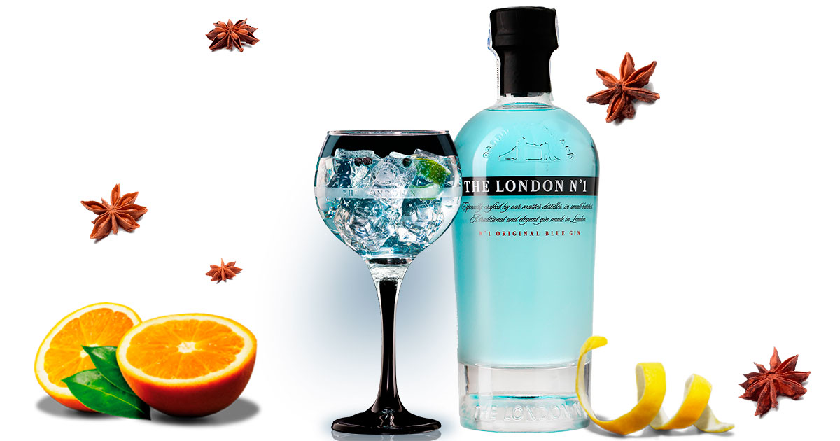 Miniatura de Gin Tonic The London Nº1